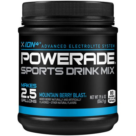 Blue Powerade Mix Drink