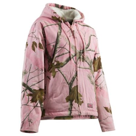 Berne Ladies Snow Drift Coat Size L Regular  Realtree Pink