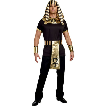 King of Egypt Adult Men\'s Halloween Costume, Medium - Walmart.com