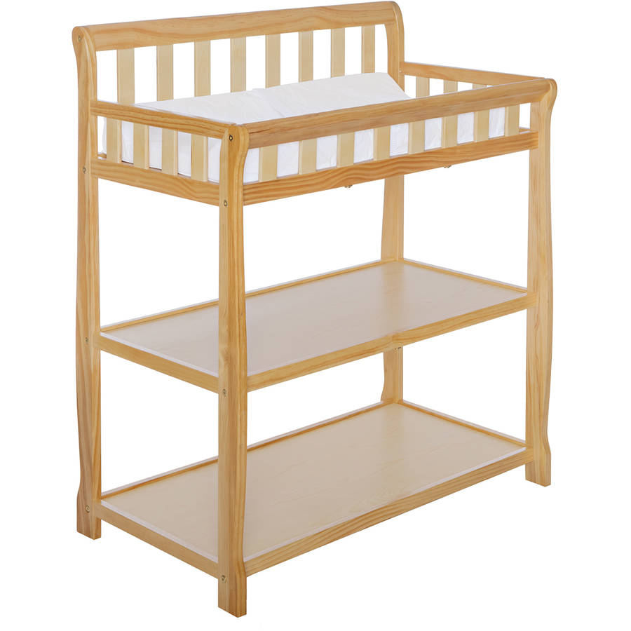 Beau Dream On Me 2 In 1 Ashton Changing Table, Natural   Walmart.com
