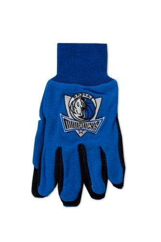 NBA Dallas Mavericks Two-Tone Gloves, Blue Black by McArthur