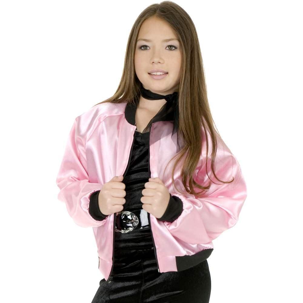 Pink Satin Ladies Kids Costume