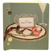 Lexington Studios 12-Album:12017RG Table 4 Two Rose Large Album - Green