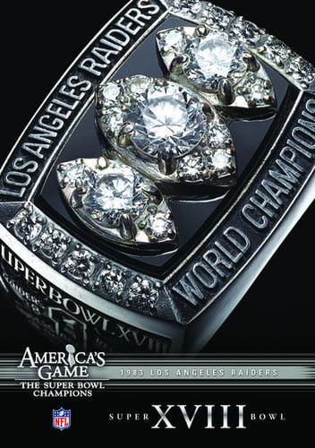 NFL America's Game: Los Angeles Raiders Super Bowl XVIII (DVD) by CINEDIGM
