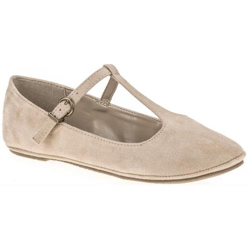 Women's T-strap Ballet Flat