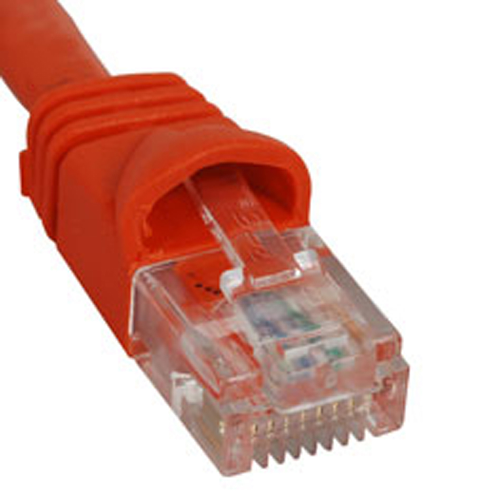 ICC PATCH CORD- CAT 5e- MOLDED BOOT- 3' OR