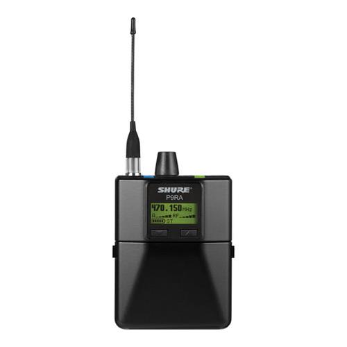 Shure P9R=A-X1 Rechargeable Wireless Bodypack Receiver, X1 Band, 944-952 MHz Frequency Range by Shure