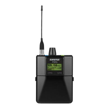 Shure Wireless Frequencies (shure p9r=a-x1 rechargeable wireless bodypack receiver, x1 band, 944-952 mhz frequency)