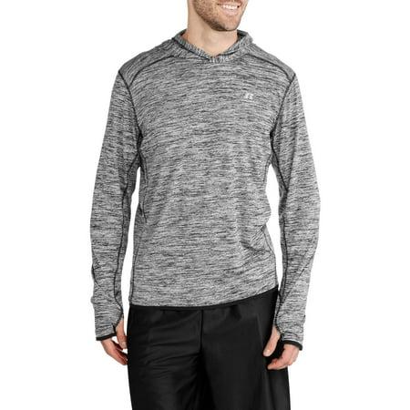 Mens Long Sleeve Hooded Shirt