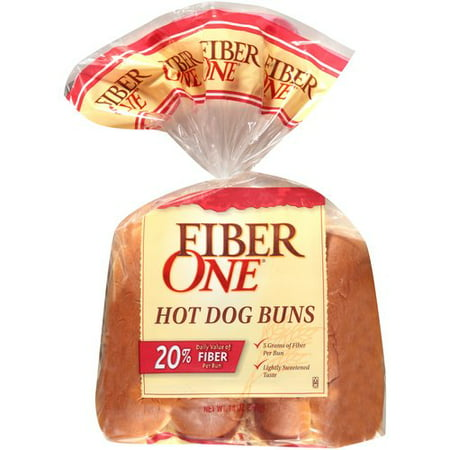 Fiberone Hot Dog Buns