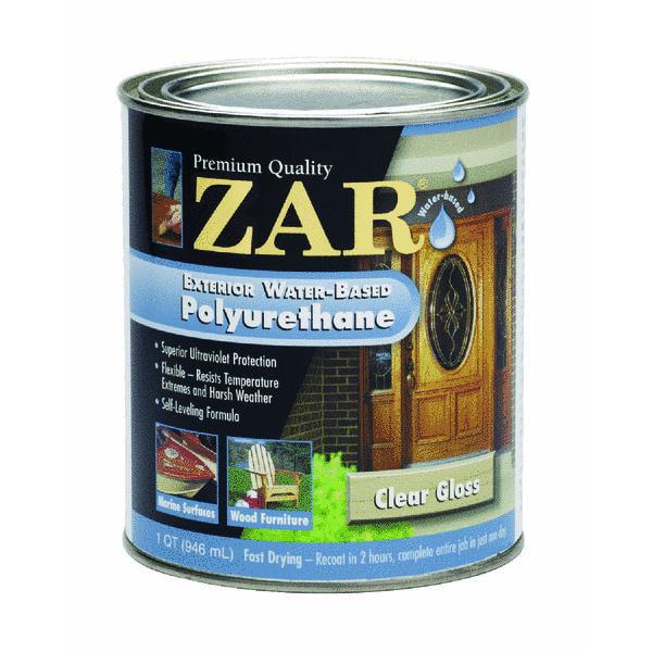 Zar Water-Based Exterior Polyurethane