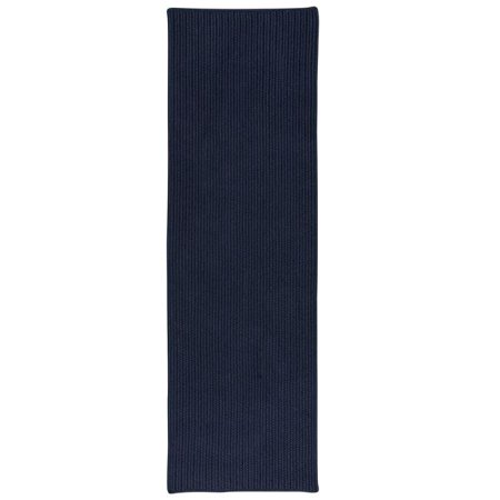 Colonial Mills Rug PU34R024X072S All-Purpose Mudroom Braided Runner  Navy - 2 x 6 ft. - image 1 de 1