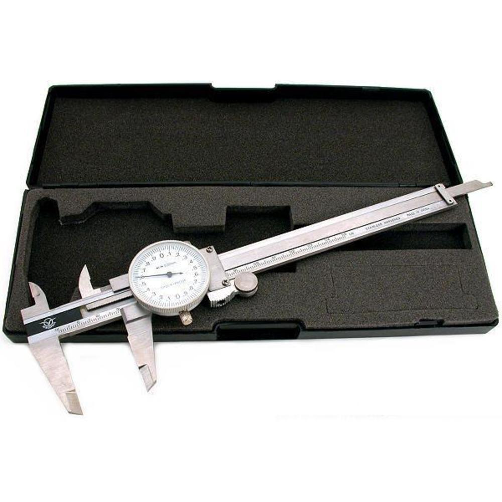Dial Vernier Caliper 3 Way Measuring Gauge 150mm Tool