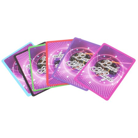 - Colorful Comedians Stage Magic Trick Arabic Numbers Cards Props Toy