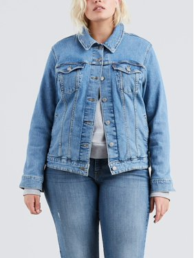 Levi's Plus Trucker Denim Jacket