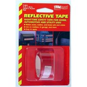 TRIMBRITE T1813 Reflective Tape, Red, 0.75 In. X 30 Ft.