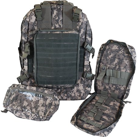 Every Day Carry Tactical Medic First Responder Backpack with Multiple