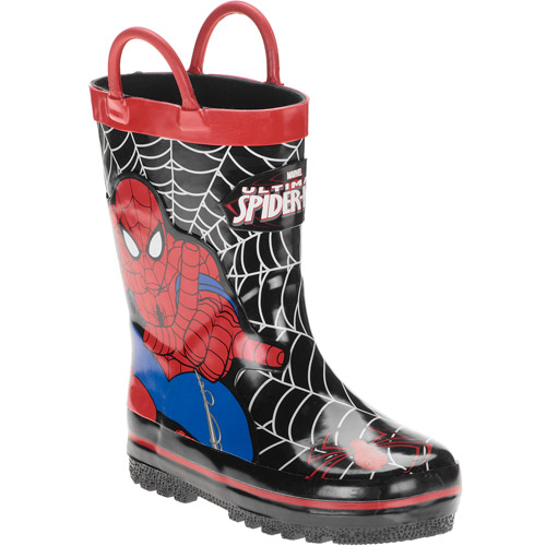Marvel Toddler Boys' Spiderman Rain Boots