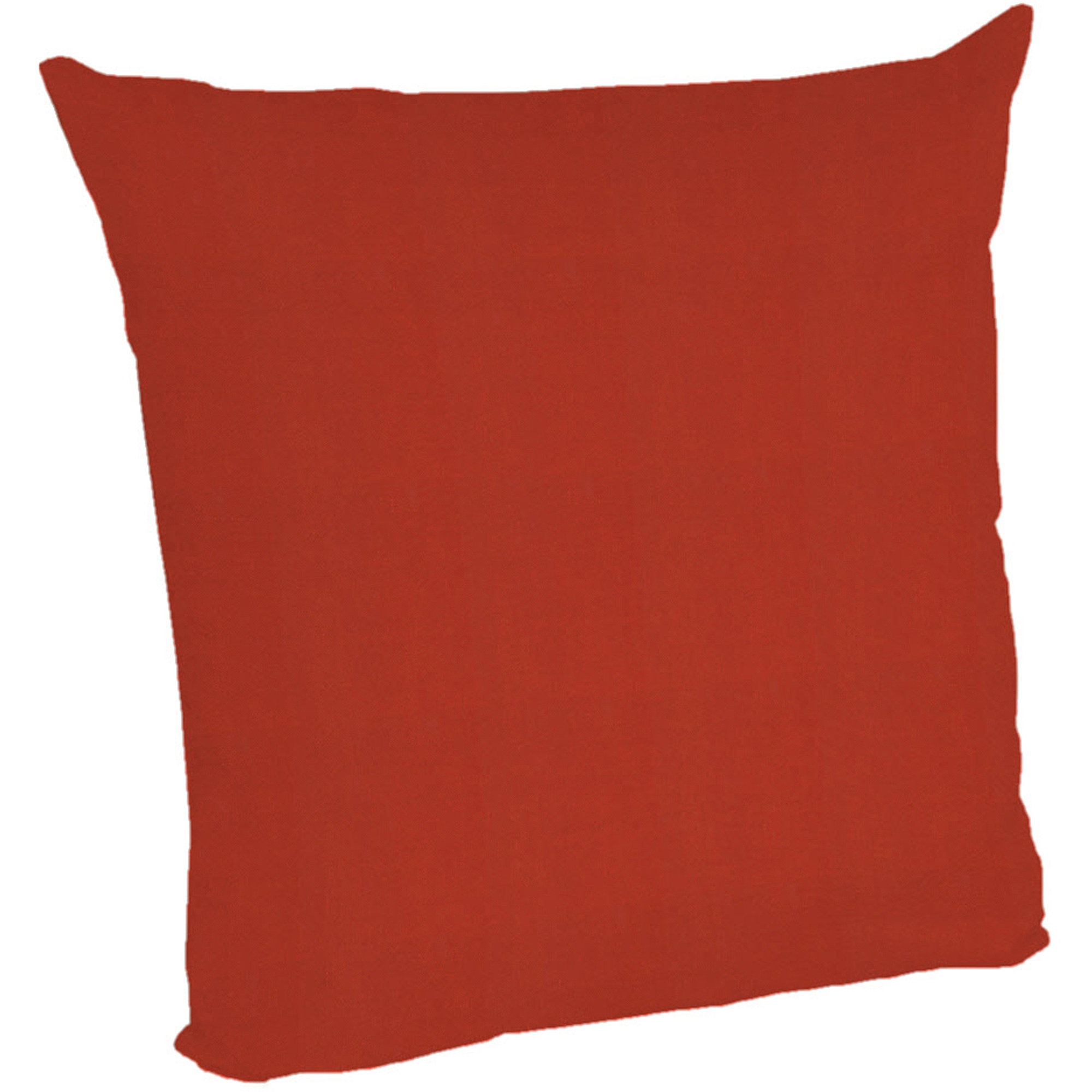 Arden Deep Seat Slipcover for Pillow Back Red Texture Cushion