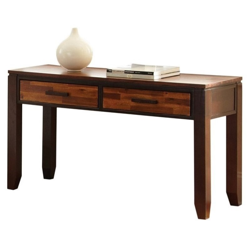 Steve Silver Company Abaco Sofa Table in Espresso - image 2 of 3