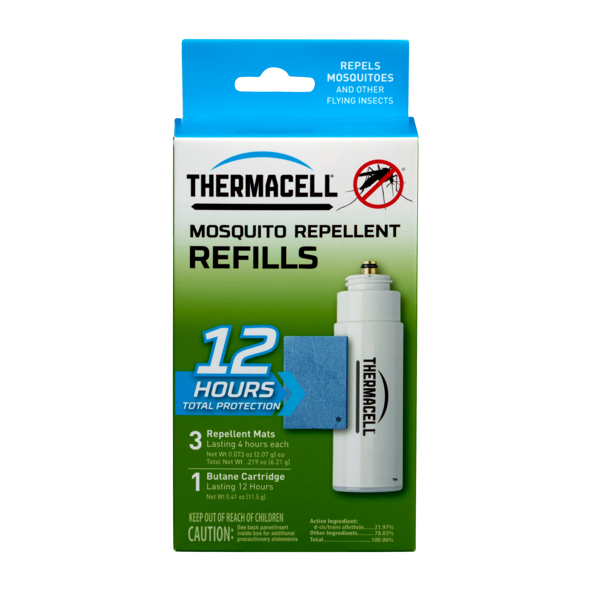 Thermacell Mosquito Repellent Refill, 12-Hour Protection by THERMACELL REPELLENTS, INC.