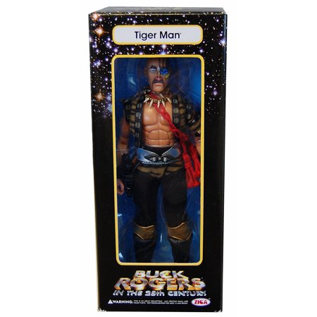 in the 25th Century Series 1 Tiger Man 9 inch Action Figure, *9 scale figure By Buck