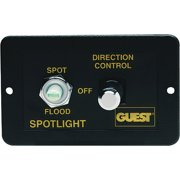 Marinco Rectangle Control Panel for Stainless Steel Spots