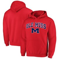 Fanatics Branded Ole Miss Rebels Campus Pullover Hoodie - Red