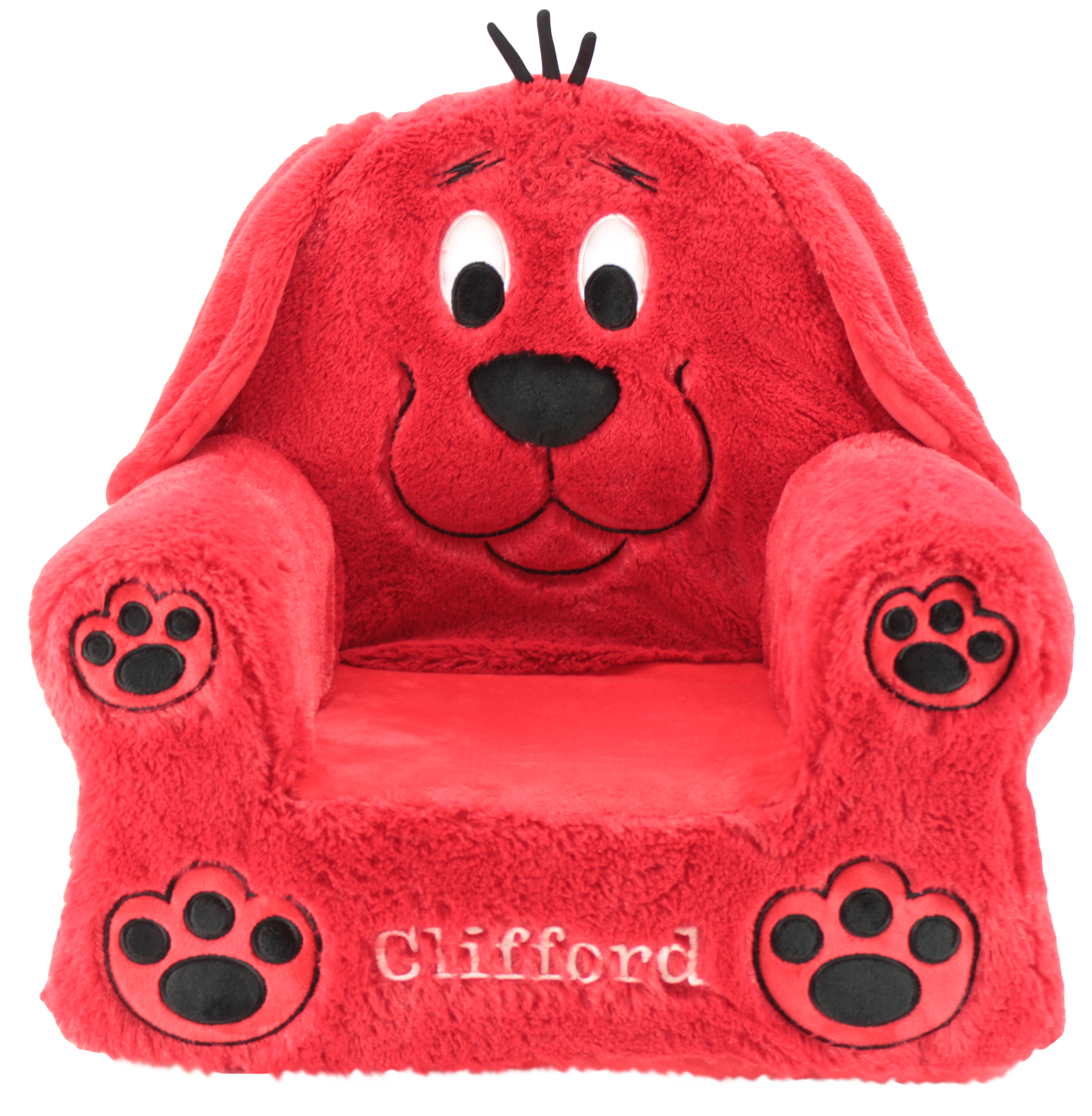 Sweet Seats Clifford Big Red Dog Soft Plush Children S Chair 13