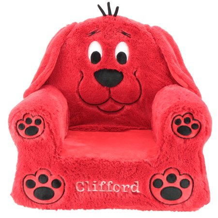 Big Round Chair (Sweet Seats Clifford Big Red Dog Soft & Plush Children's Chair, 13