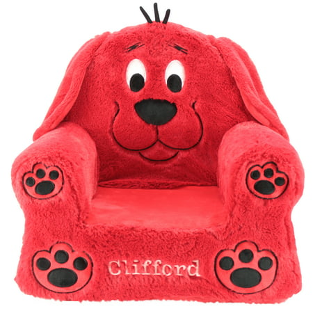 Sweet Seats Clifford Big Red Dog Soft & Plush Children's Chair, 13
