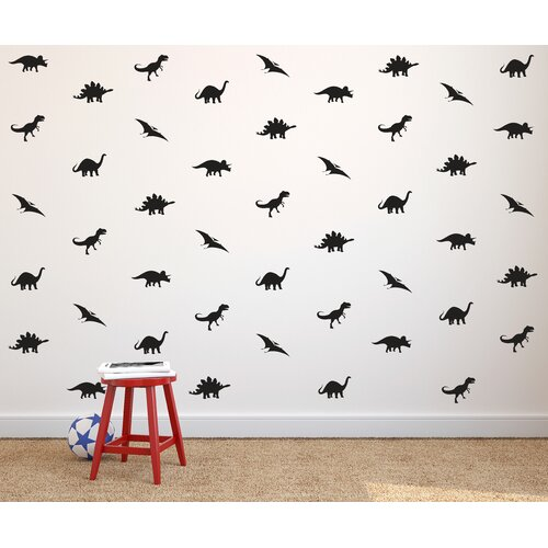 Dana Decals Tiny Dinosaurs Wall Decal