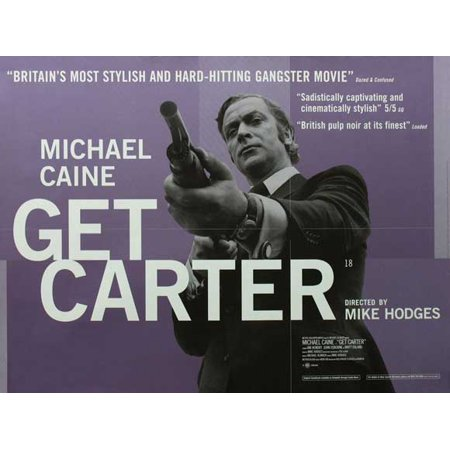 Carter Movie Poster - Get Carter (1971) 30x40 Movie Poster