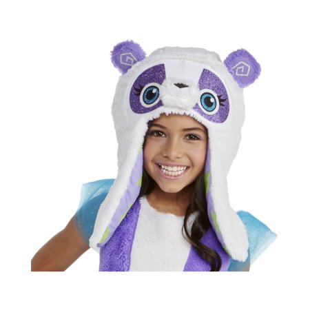 Animal Jam Dancing Fancy Panda Girls Hood One Size Costume Accessory