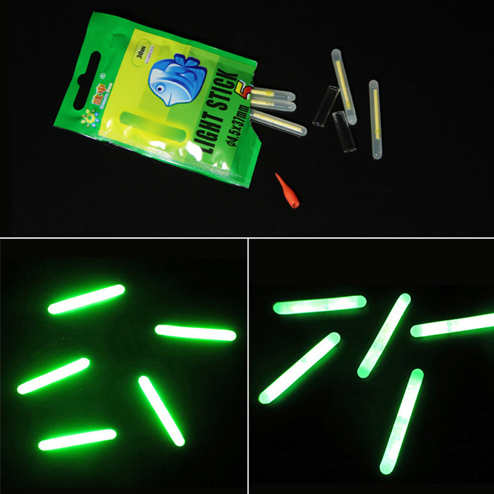 Night Fishing Electronic Luminous Float Lightstick Dark Glow Stick Fish Tool FBB
