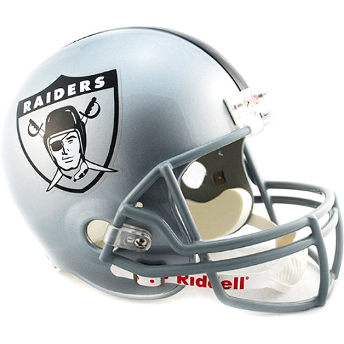 Oakland Raiders 1960-63 Throwback Riddell Deluxe Replica Hel