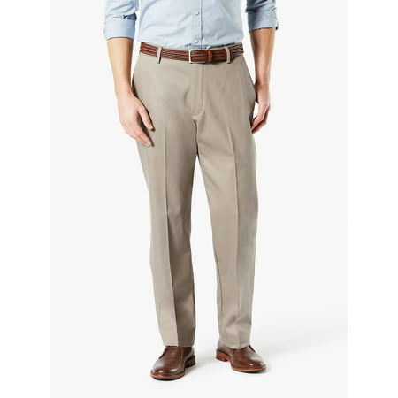 Men's Signature Classic Creased Khaki (Dockers Washed Chino)