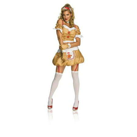 Sexy Christmas Ginger Bread Girl Adult - Ginger Costume Ideas
