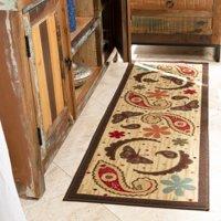 Ottomanson Sara's Kitchen Paisley Runner Rug