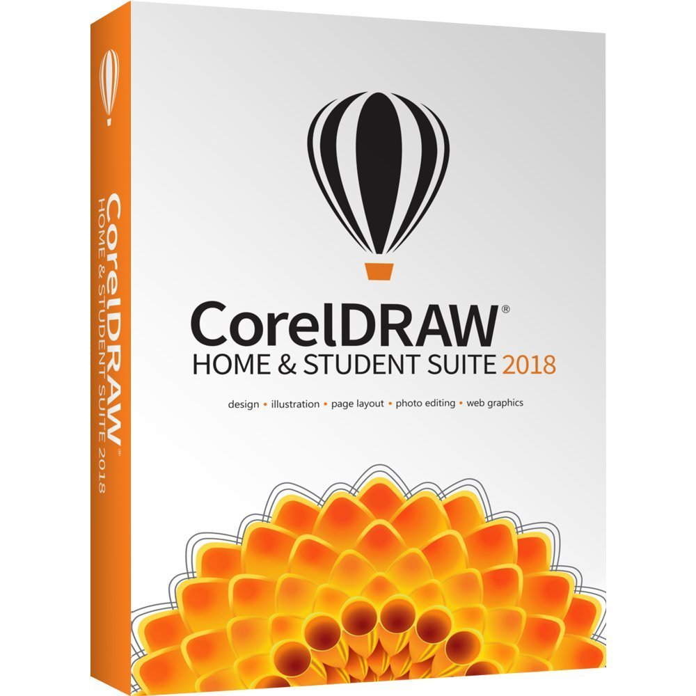 Corel DRAW Home & Student Suite 2018 - Box pack - 1 User