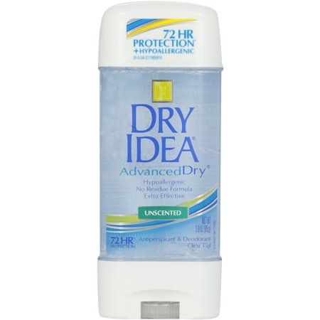 6 Pack Dry Idea Advanced Dry Unscented Antiperspirant Deodorant