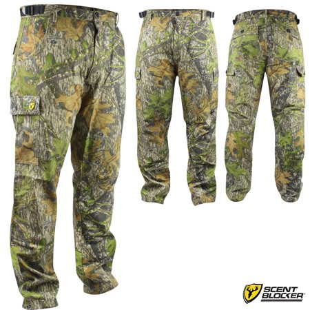Scent Blocker 6-Pocket Ripstop Pants (M)- MOOBSN (Scent Blocker Ripstop)