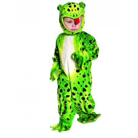 Green Frog Baby Animal Jumpsuit Toddler Halloween Costume - M (18-24 Months)