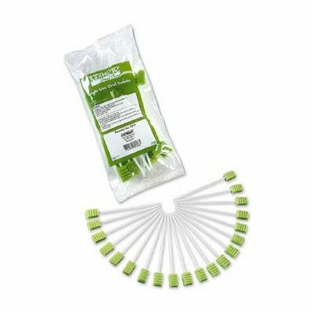 Oral Swabstick Toothette Plus Foam Tip Untreated - 20 Each / - Toothette Plus Swabs