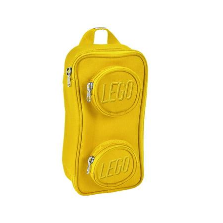LEGO Kids' Brick Pouch, One Size, Yellow