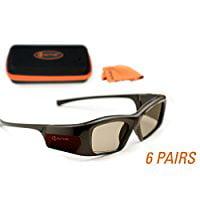 SAMSUNG-Compatible 3ACTIVE® 3D Glasses. Rechargeable. MEG...