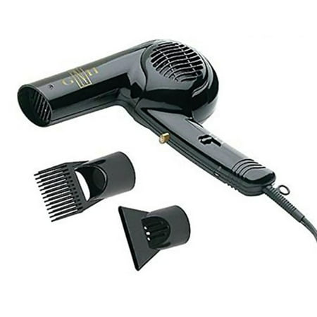 Gold 'N Hot Professional 1875-Watt Dryer with Styling Pik, 1875 watts By Gold N