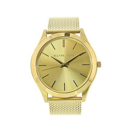 Michael Kors Men's Runway MK8625 Gold Stainless-Steel Quartz Fashion Watch (Michael Kors New Arrivals)