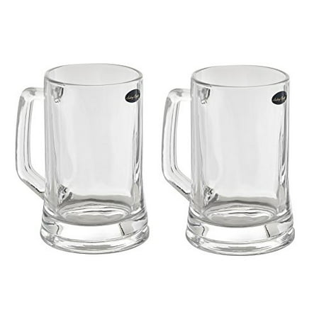 16 Oz Beer Mugs (Amlong Crystal Lead Free Beer Mug - 14 oz, Set of)
