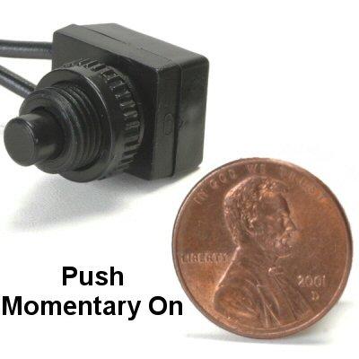 K-Four Micro Mini 5 Amp Push Momentary On Push Button Switch